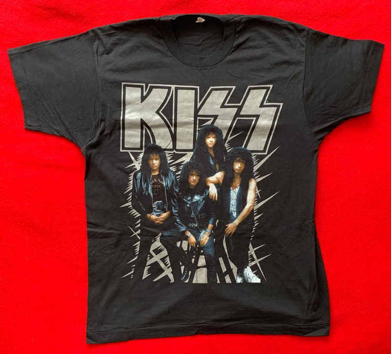 Kiss Rare Vintage Pre-owned 1990 Size XL Shirt