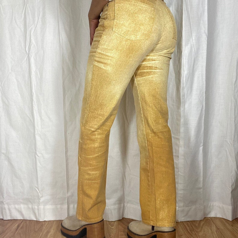 Vintage Roberto Cavalli high waisted jeans