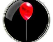 Stephen King's It, Red Balloon Necklace, Red Balloon Pendant, Red BalloonJewelry