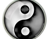 Yin-Yang pendant, necklace, jewelry: Available in a number of different colours.