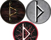 Thorn Rune Necklace, Pendant, Jewelry. available in three different styles.