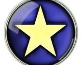 Yellow Star Necklace, Yellow Star  Pendant, Yellow Star Jewelry