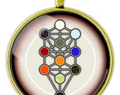 Kabbalistic Tree of Life Necklace, Pendant,  Jewelry