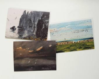 Card Bundle - Any 8 cards for 20 pounds. Wildlife. Nature. Landscape. Art Cards. Greetings Cards.
