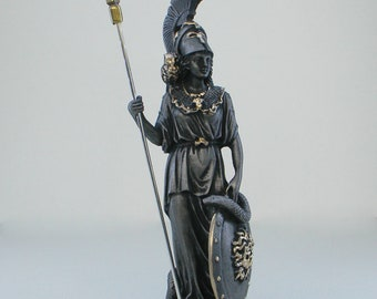 Roman Statue of Athena Charm Sterling Varvakeion Athena Charm or Pendant 800 Silver Charm Rome Italy Souvenir