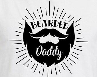 Bearded Daddy Svg Etsy