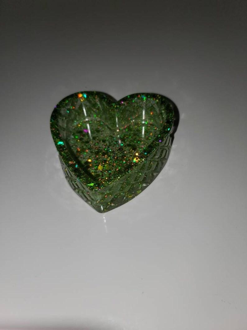 Heart ashtray  trinket tray