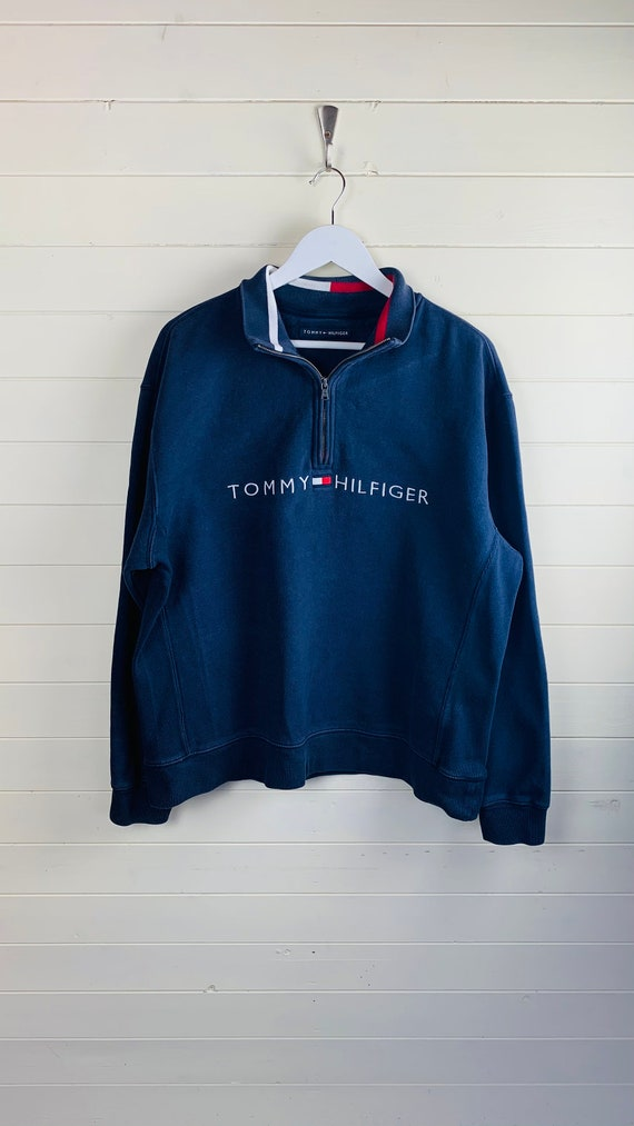 Tommy Hilfiger Spell-Out Quarter Zip