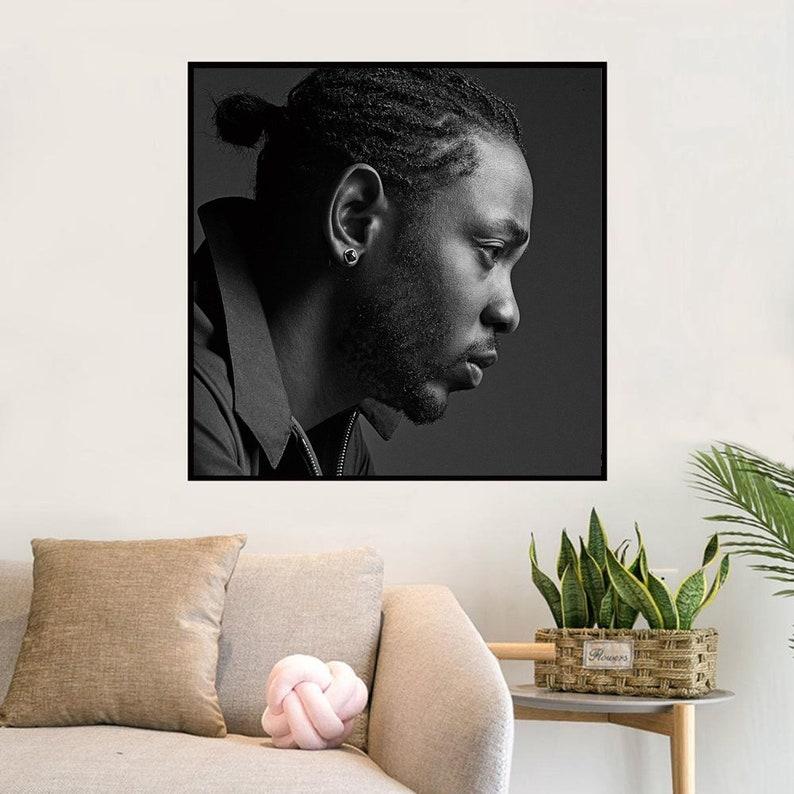 Kendrick Lamar Art Music album cover Music Poster Wall Art Canvas painting for Living Room Home Decor Unframed