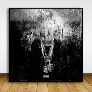 Big sean Hall of fame Art Music album cover Music Poster Wall Art Canvas painting for Living Room Home Decor Unframed