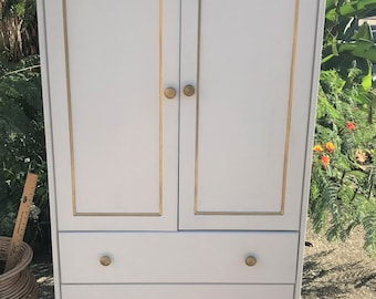 Refurbished 3 Drawer Armoire - LOCAL PICKUP ONLY