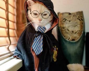Wizard Cat Robe, Pet Halloween Costumes