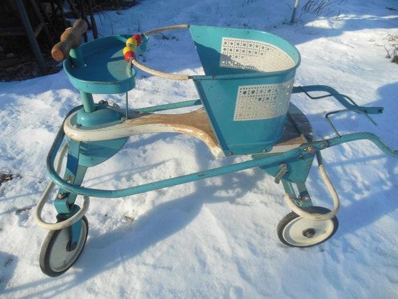 Vintage Buggy Baby Walker