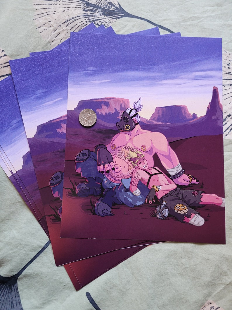 Overwatch Roadrat Print