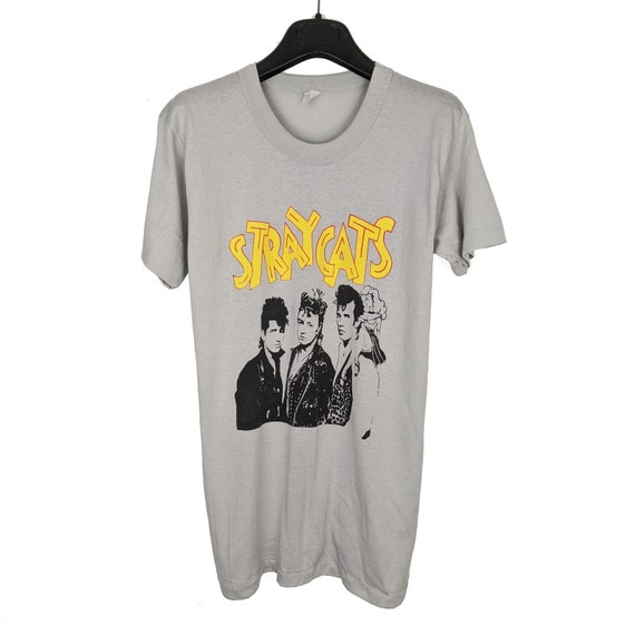 Vintage 80's Stray Cats T Shirt