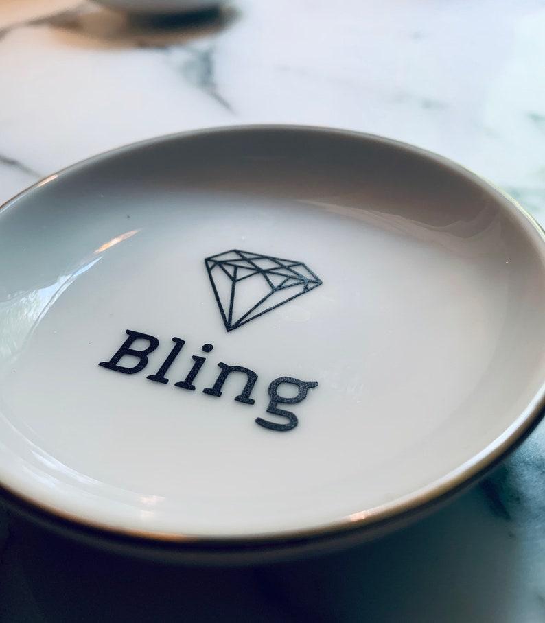 Small Ring Dish Bling