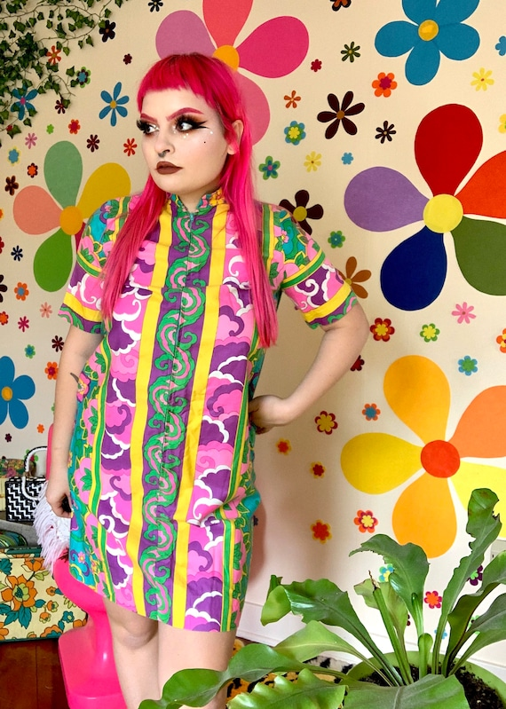 Alice Psychedelic 60s dress