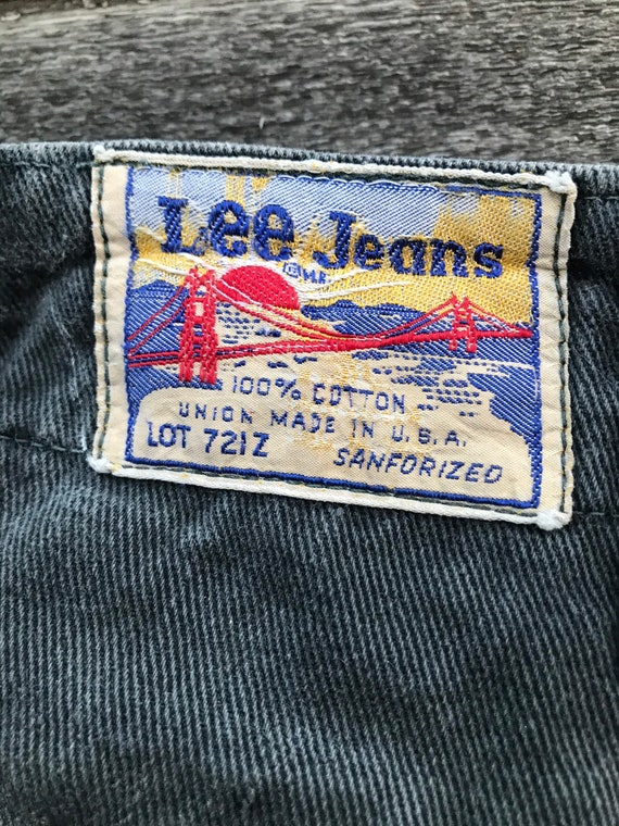 1950's Lee Sanforized Work Pants