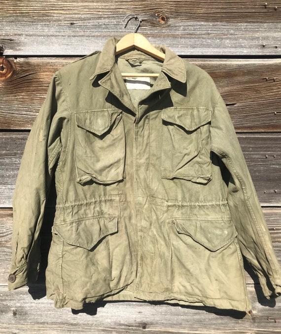 1940's M-1943 WWII Field Jacket