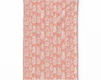 Triangle Pineapple Clay color  Tea Towel