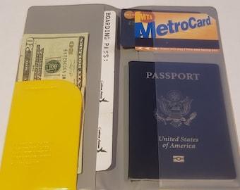 Travel Passport Pouch/Travel Wallet/Document Holder/Passport Holder