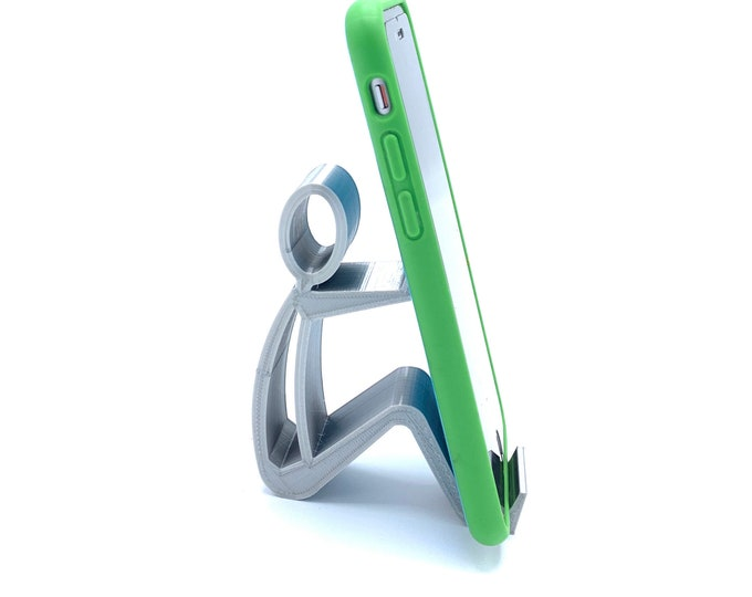 3D Printed Person Cell Phone Stand