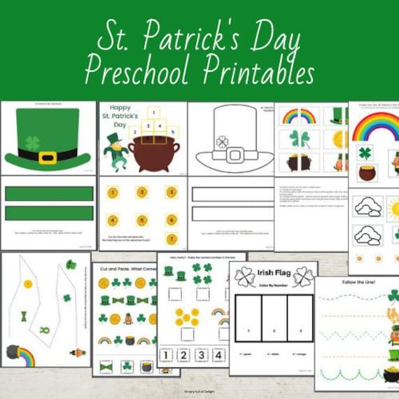 St. Patrick's Day Preschool Activities St Patricks Day