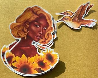 Honey Dew Vinyl Stickers