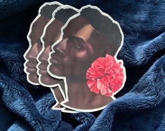 Blue boy Vinyl Stickers