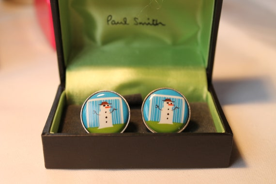PAUL SMITH Gift Box Packaging CHRISTMAS present wrapping for socks cufflinks tie