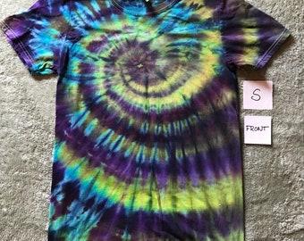 Down the Rabbit Hole ~ a Unisex S tie-dye Tshirt 100% cotton
