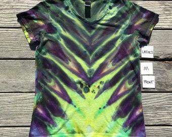 Dragon Tongue  ~ Ladies M tie-dye Tshirt 100% cotton