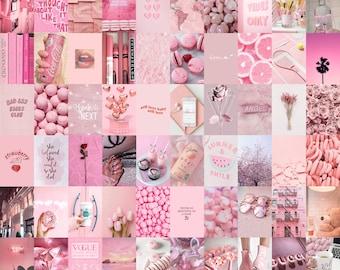 Light Pink Wall Art Etsy