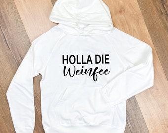 Hoodie-Weinsprüche