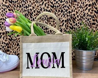 Jutetasche-MOM,Oma