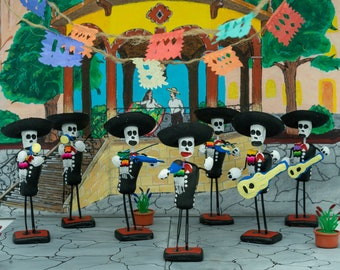 Day of the DeadCinco de Mayo Chubby Skeleton Mariachi