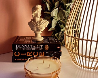Art Deco Bowl 3 wick candle | Betty