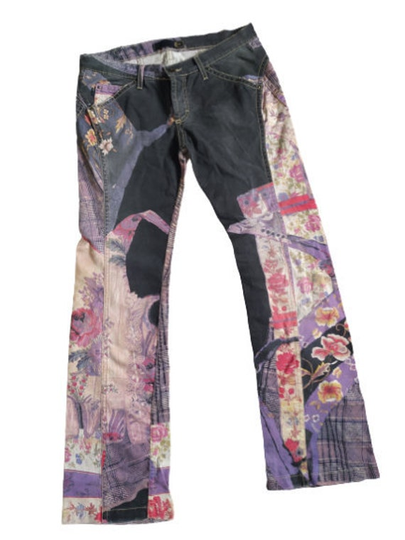 JUST CAVALLI Jeans / Y2K Just Cavalli flare Pants/