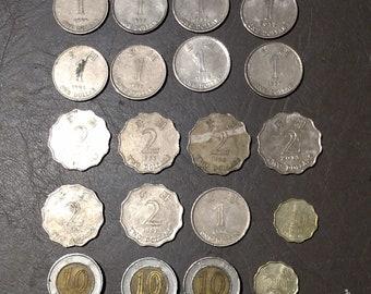 Rarest!  Alloy Metal 29 Hong Kong Dollar Coin Collection!.!