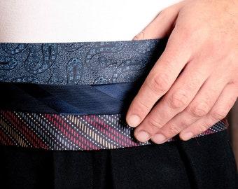 Unisex tie belt