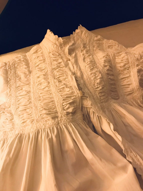 Fancy Victorian Nightgown.