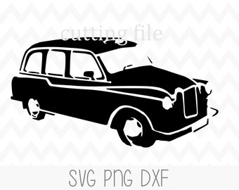 Where To? Svg Jpg Cut File Black Cab Svg Dxf Hackney Svg Svg Taxi Svg London Taxi Vector Art Eps Png Clipart