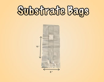 Mushroom Substrate Filter Patch Bags