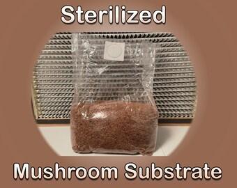 4 LB Sterilized Mushroom Substrate - HWFP