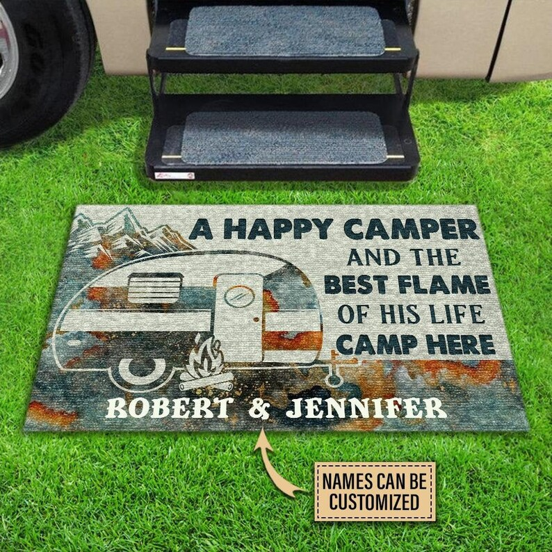 Gearhuman – Personalized Camping Happy Camper Live Here Customized