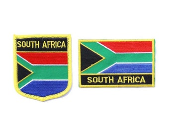 South Africa Patch Embroidered Iron On Badge Applique South African