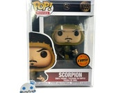 Funko Pop Scorpion Chase 1055 Mortal Kombat 2021 Vinyl Figure Limited w case