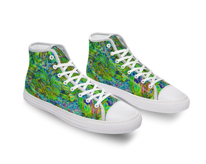 Tropical Forest Comfortable Canvas High Top Shoes for Men Women