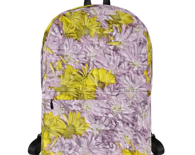 Daisies Backpack Fully Printed Original Design