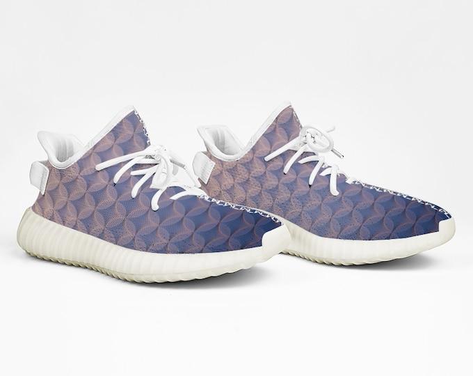 Yeezy Boost 350 V2 Style Gray Velvet Sneakers Lightweight Running Shoes